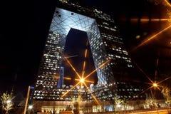 Das Fernsehgebäude von Peking Stockfoto