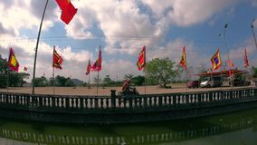 Das Festival, wo der Tempel heilig ist stock footage