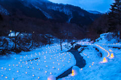 Das Festival Yunishigawa Kamakura Lizenzfreies Stockbild