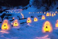 Das Festival Yunishigawa Kamakura Stockfoto