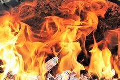 Das Feuer Lizenzfreie Stockbilder