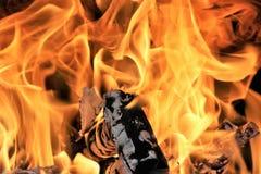 Das Feuer Stockbilder