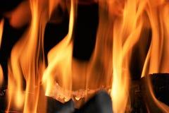 Das Feuer Lizenzfreies Stockfoto