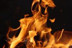 Das Feuer Stockfoto