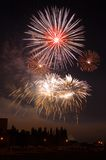 Das Feuerwerk Stockfotografie