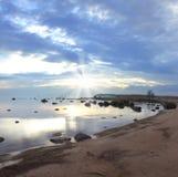Das Finnische Meerbusen, Russland Stockfotografie