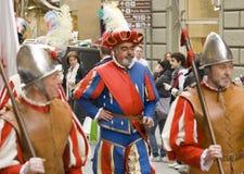 Das fiorentine neue Jahr Stockfoto