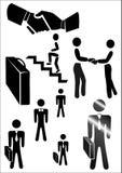 Das Firmenzeichen auf Thema - Geschäft Lizenzfreies Stockfoto