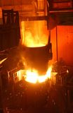 Das fixierte Metall Stockfoto