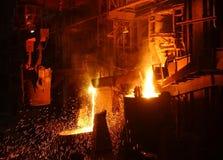 Das fixierte Metall stockbilder