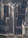 Das Flatiron Gebäude Stockfotos