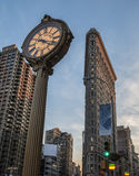 Das Flatiron Gebäude Lizenzfreie Stockfotos