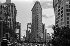 Das Flatiron Gebäude Lizenzfreie Stockbilder