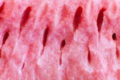 Das Fleisch der Wassermelone Lizenzfreie Stockfotos