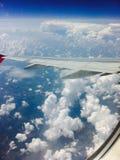 Das Fliegen Stockfoto