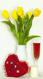 Das flores vida ainda Imagem de Stock Royalty Free
