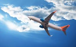 Das Flugzeug Lizenzfreie Stockfotos