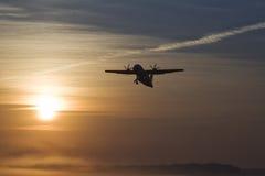 Das Flugzeug Stockfotografie