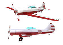 Das Flugzeug Lizenzfreie Stockfotografie