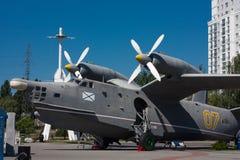 Das Flugzeugschiff BE-12 Stockfotografie