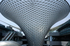 Das Fluss-Mall in Shanghai China Lizenzfreies Stockfoto