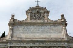 Das Fontana-dell& x27; Acqua Paola Stockfotos