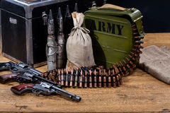 Das forças armadas vida ainda fotos de stock