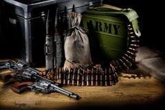 Das forças armadas vida ainda Imagens de Stock Royalty Free