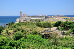 Das Fort in Havana, Kuba Stockbilder