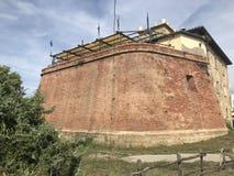 das Fort von Marina di Bibbona, Italien stockfotos