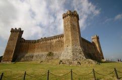 Das Fort von Montalcino Lizenzfreies Stockfoto