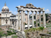 Das Forum Rom Italien Lizenzfreies Stockbild