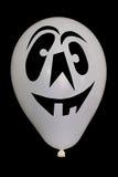 Das Foto eines weißen Ballons auf Halloween Lizenzfreies Stockbild
