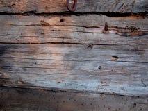 Das Fragment der Wand des Hauses stockfotografie