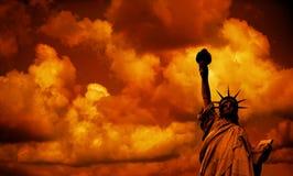 Das Freiheitsstatue Lizenzfreie Stockfotos