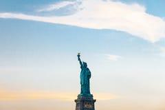 Das Freiheitsstatue in New York Stockbild