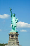 Das Freiheitsstatue in New York City, Amerika Lizenzfreies Stockbild