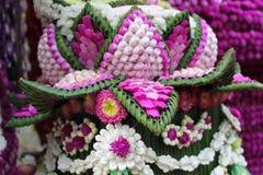 Das frische künstliche von Blumen in Thailand Stockbild