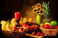 Das frutas vida ainda Fotografia de Stock