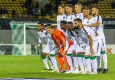 Das Fußballspieler ` Foto ist Sport- lizenzfreie stockfotos