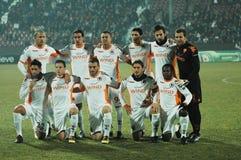 Das Fußballteam von ALS Rom Stockbilder