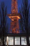 Das funkturm Berlin Deutschland am Abend Stockfoto