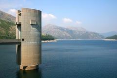 Das Furnas van Vilarinho Dam Royalty-vrije Stock Foto's