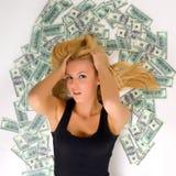 Das ganzes Geld stockbilder