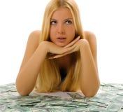 Das ganzes Geld lizenzfreie stockbilder