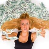 Das ganzes Geld stockfoto