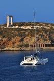 Das Gatter des Naxos Tempels Lizenzfreies Stockfoto