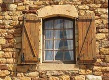 Das geöffnete Fenster Lizenzfreies Stockfoto