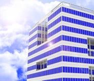 Das Gebäude Lizenzfreie Stockfotografie