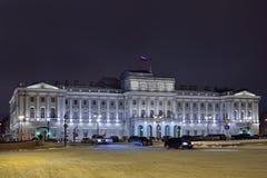 Das Gebäude der gesetzgebenden Versammlung von St Petersburg im Th Stockbilder